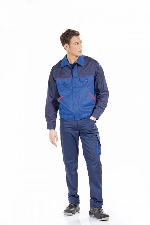 Trabalhador com blusão para homem para roupa de trabalho