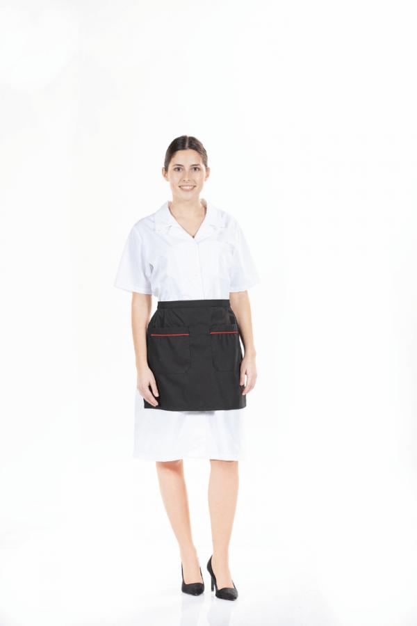 Avental de senhora para uniforme profissional