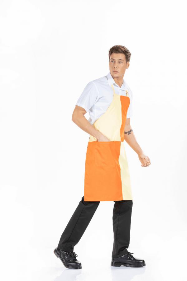 Avental masculino para uniforme profissional
