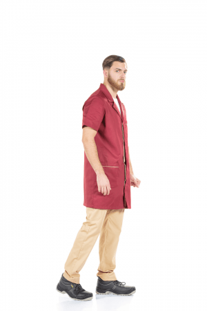 MEN'S SHORT SLEEVE WORK SMOCK