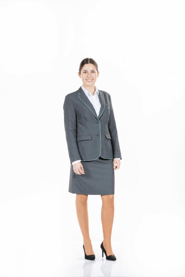 Blazer de mulher para uniforme de trabalho