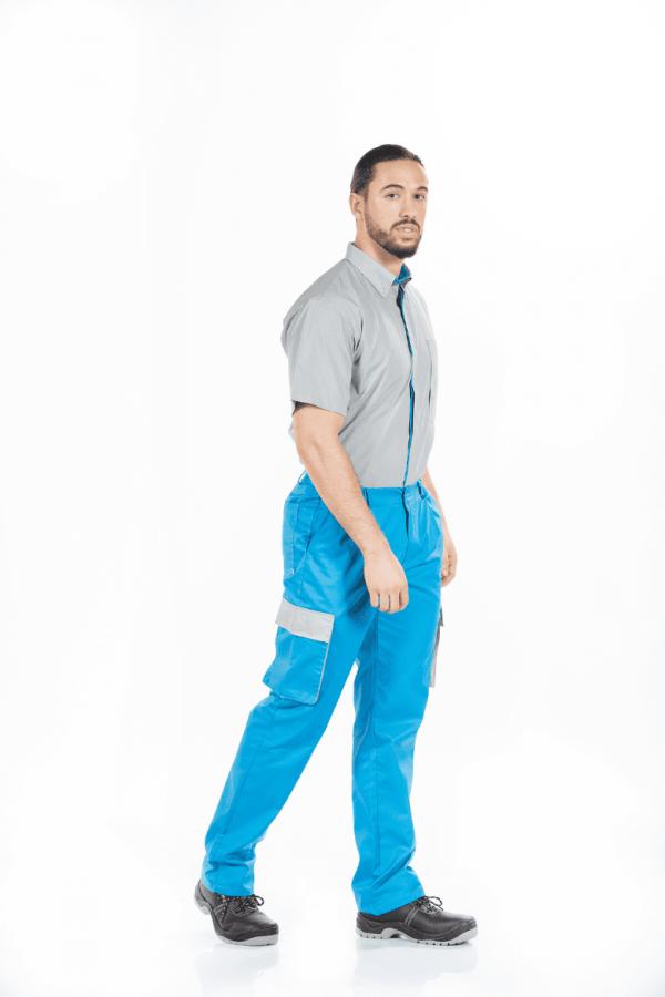camisa de trabalho masculina unifardas