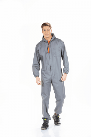 MEN'S WORK COVERALL WITH HOOD