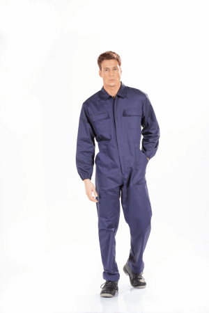 MEN'S FLAME RETARDANT WORK COVERALL