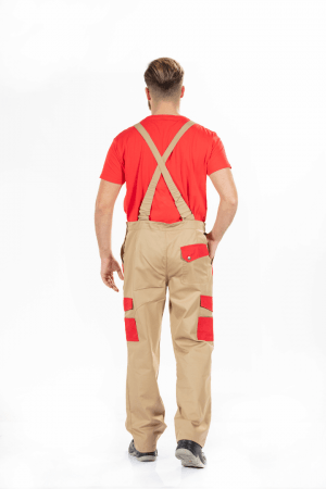 MEN'S MULTI-POCKET WORK OVERALL
