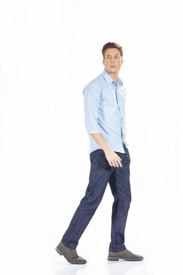 unifardas vestuario profissional workwear cala homem ganga lateral