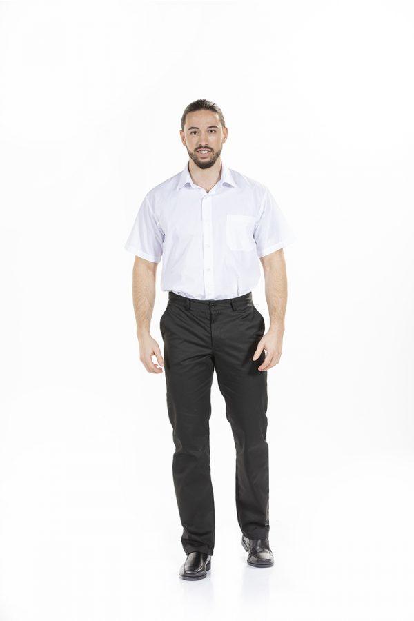 camisa de trabalho de manga curta