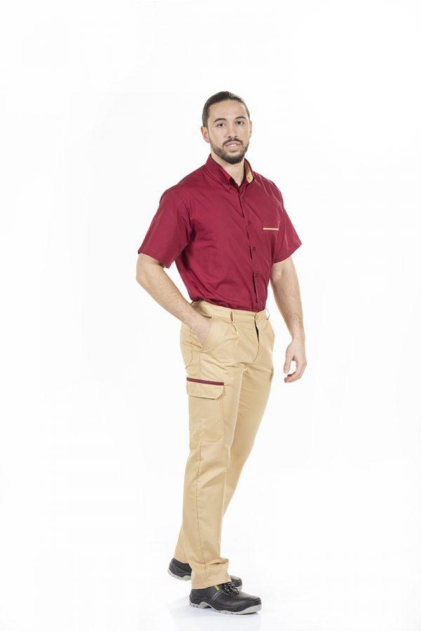 Camisa de homem para farda de trabalho