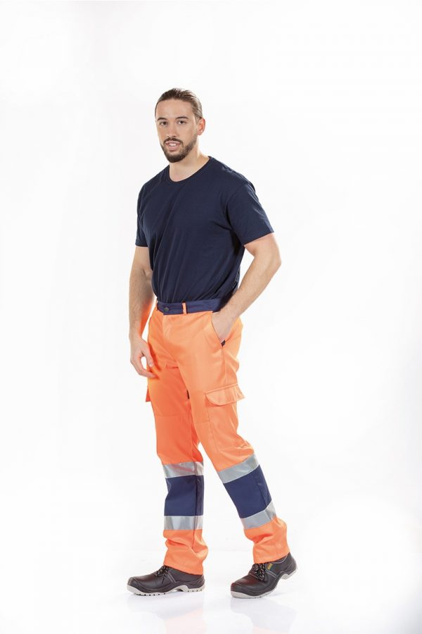 Calça de alta visibilidade masculina