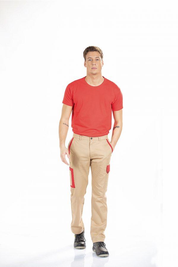 Calça multibolsos masculina para farda de trabalho
