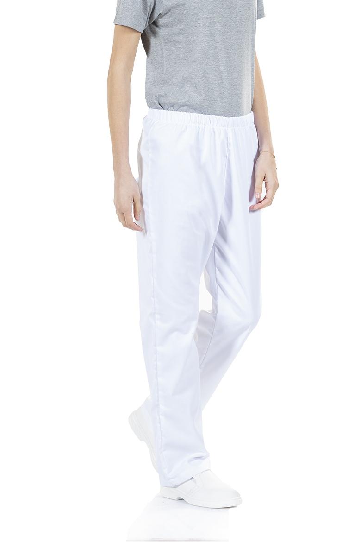 Pantalones De Trabajo Con Cintura Elastica Para Mujer Unifardas