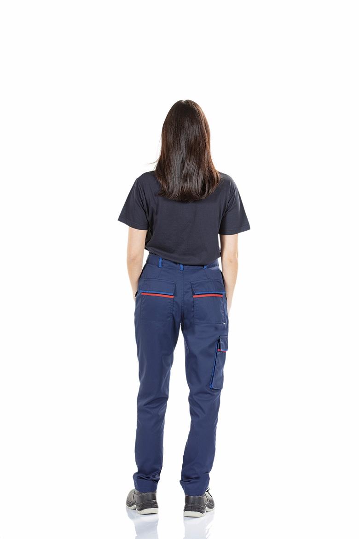 Pantalon De Trabajo Multibolsillos Para Mujer Unifardas