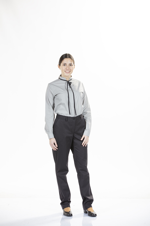Pantalones De Trabajo Clasicos Sin Pliegues Para Mujer Unifardas