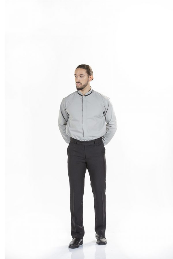 Camisa para homem para restauração para uniforme profissional