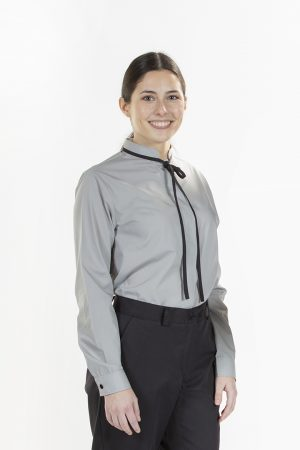 LADIES SHIRT WITH TIE
