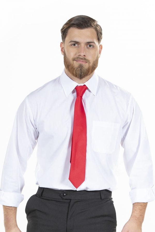 Homem com gravata para usar com Uniforme Profissional