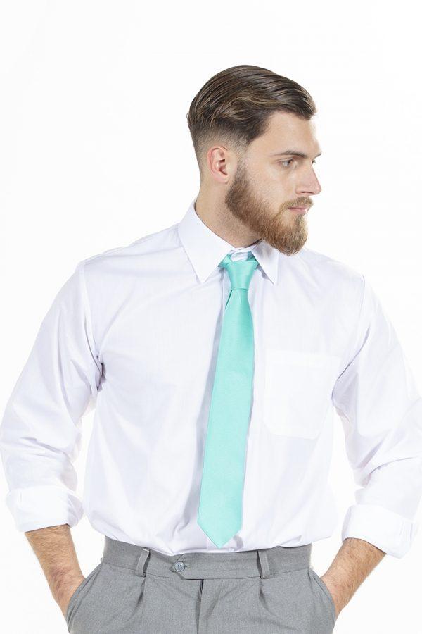 Gravata de homem na cor verde
