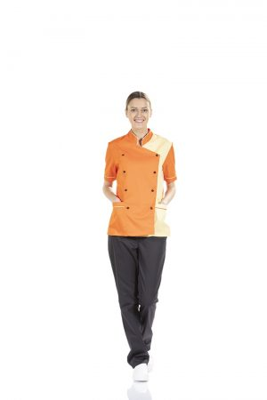 WOMEN'S SHORT SLEEVE KITCHEN JACKET