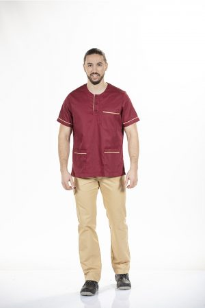 UNISEX SHORT SLEEVE WORK TUNIC