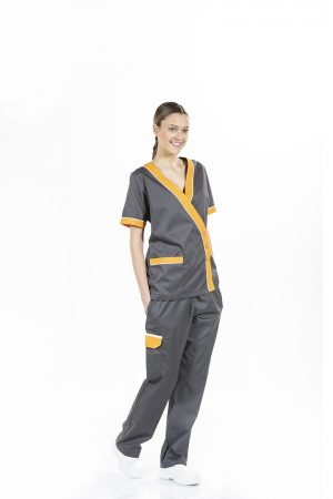 WOMEN'S SHORT SLEEVE WORK TUNIC