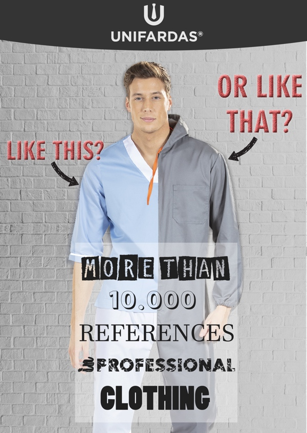 More than 10.000 references in professional clothing