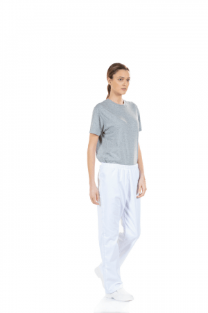 Calça Branca Feminina para Enfermagem
