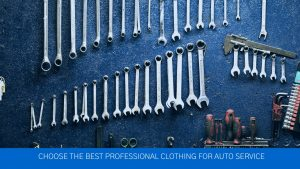 Auto service clothing