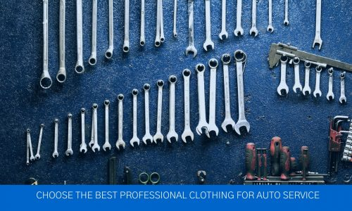 Auto service clothing