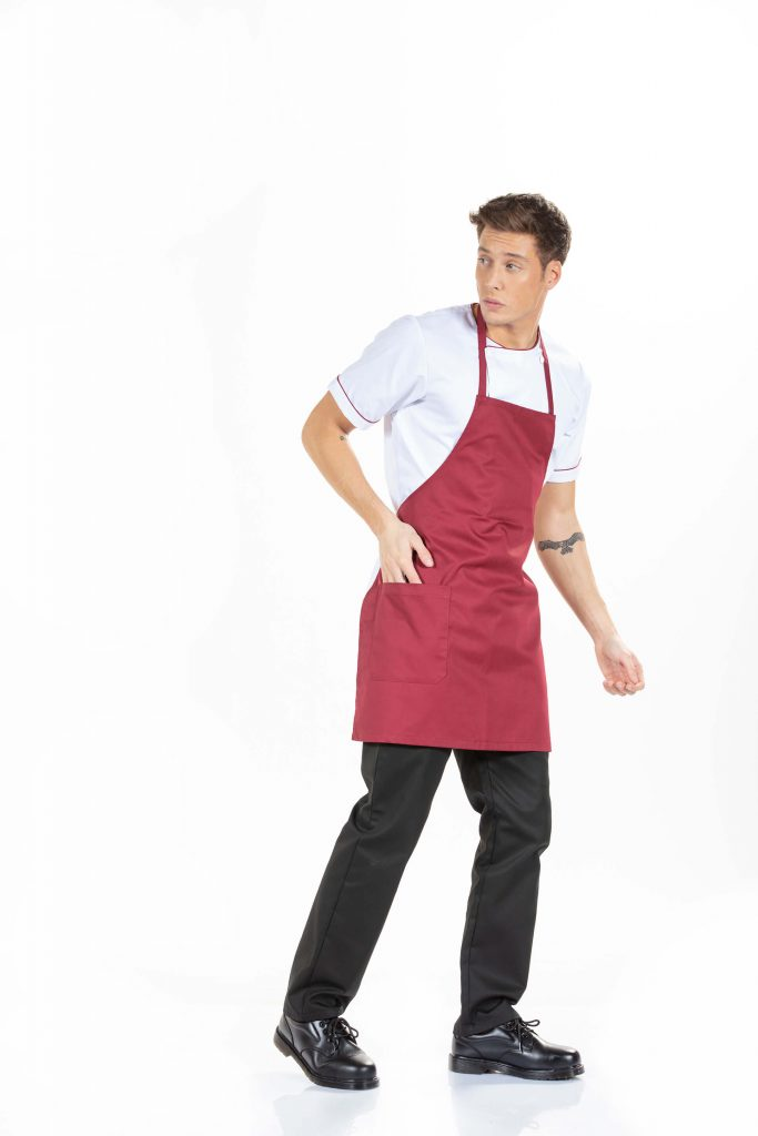 cook short sleeve jacket work uniforms