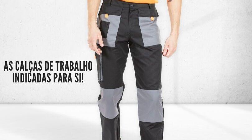 calças de trabalho para homem