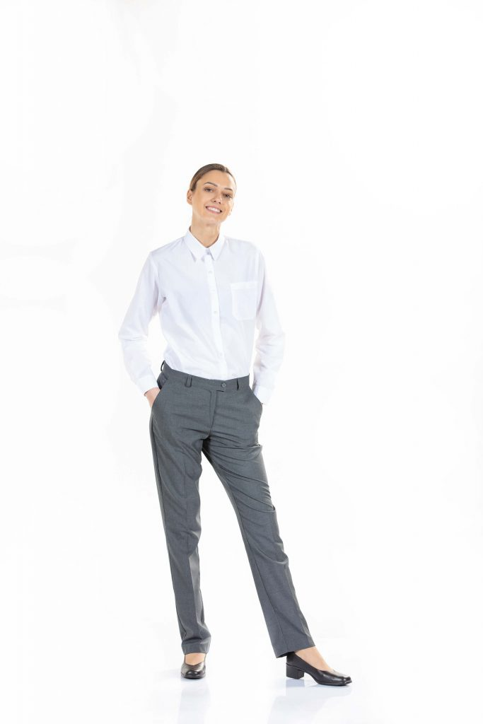 calças de trabalho femininas