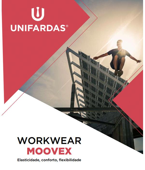Coleção de vestuário de trabalho com Elastano da Unifardas