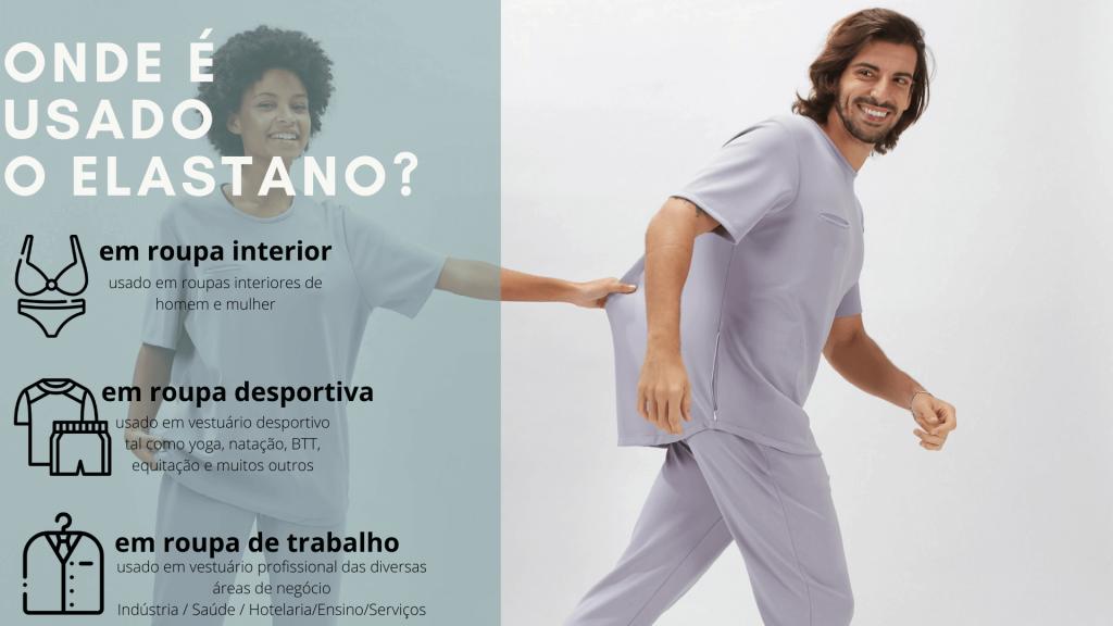 artigo sobre a importância do uso do elastano na roupa de trabalho