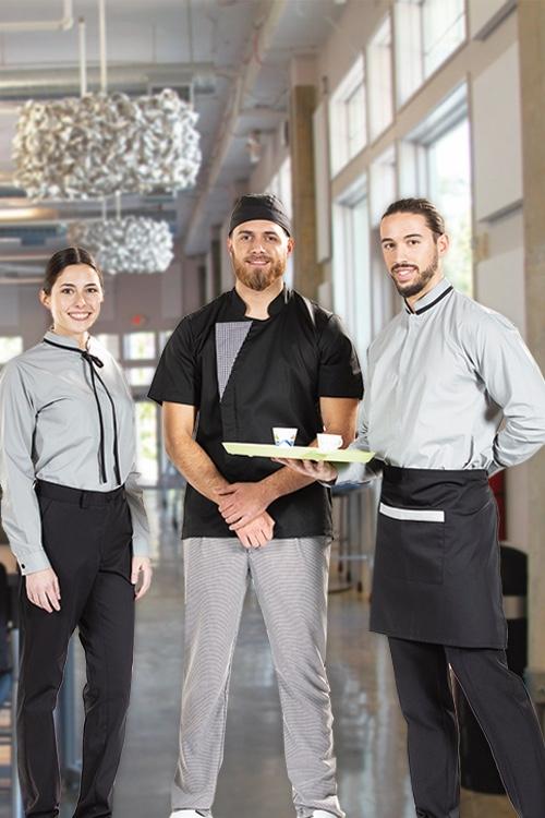 Uniformes de trabalho para Hotelaria e Restauração