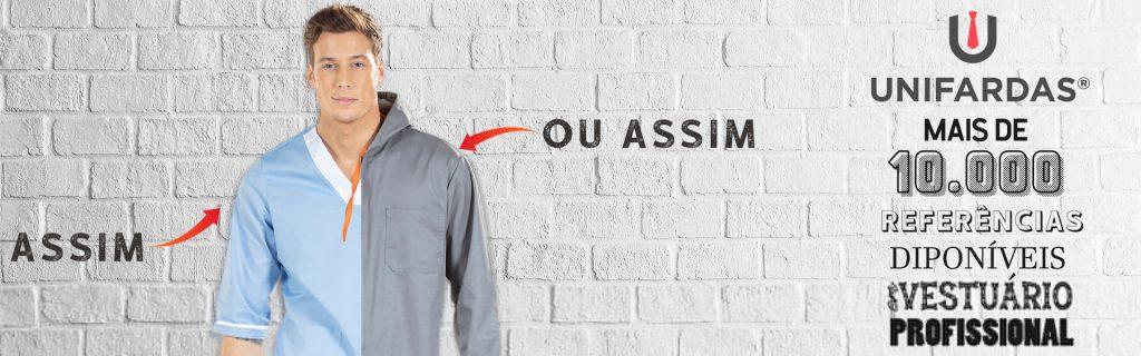 Personalização de fardas e uniformes da Unifardas