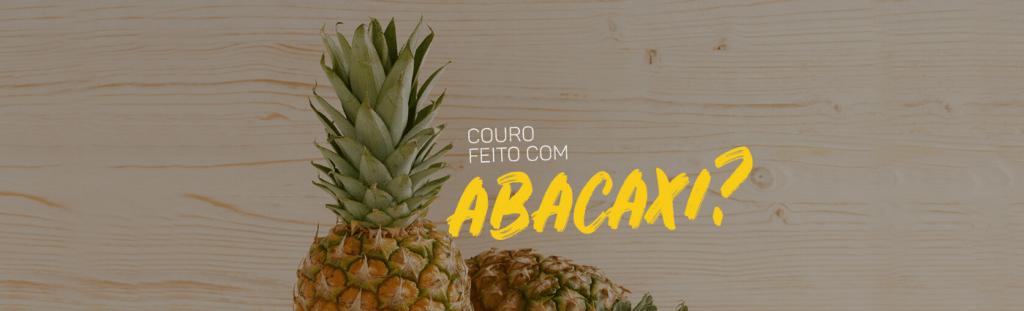 imagem sobre tecidos feitos de abacaxi