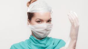 Cogulas como equipamento de proteção para profissionais de saúde