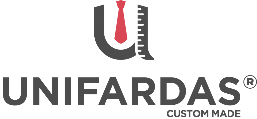 Logótipo custom made para uniforme profissional da Unifardas