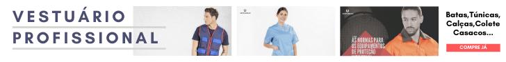 Imagem de vestuário profissional da Unifardas
