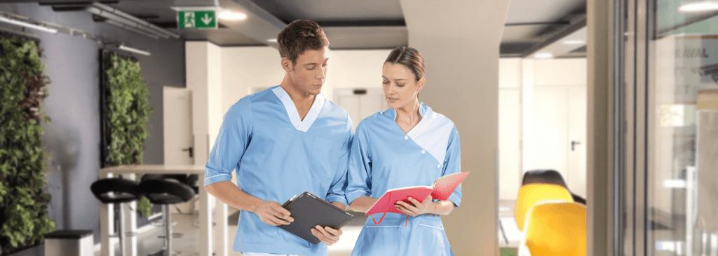 Pijamas cirúrgicos fabricados pela Unifardas para fardas de saúde