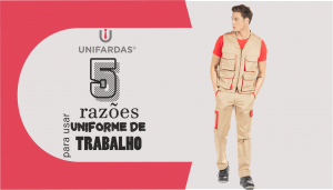 Uniforme de Trabalho Personalizado – 5 razões porque deve usar!