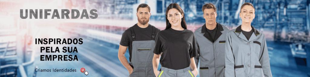 Uniforme de trabalho personalizado de indústria produzido pela Unifardas