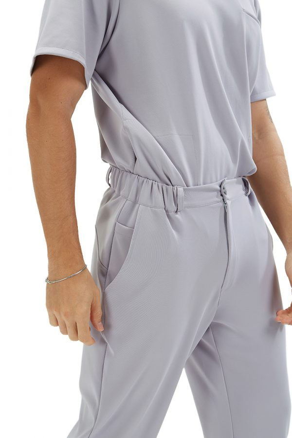 Detalhes da calça para roupa hospitalar da marca HISI Collections by unifardas healthcare