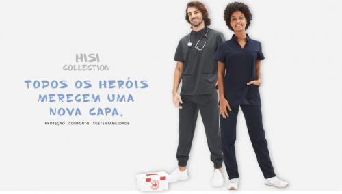 Fardas para Profissionais de Saúde – HISI Collection