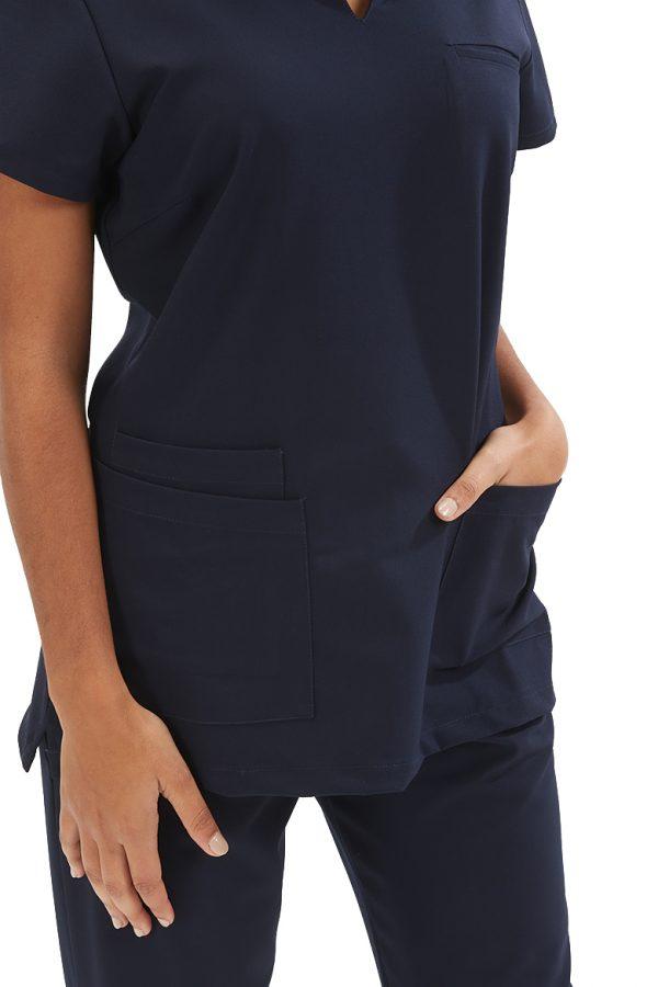Detalhes da túnica para farda para medicina dentária da marca Hisi Collection
