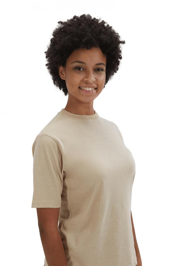T-shirt de mulher para ser usada em farda de trabalho