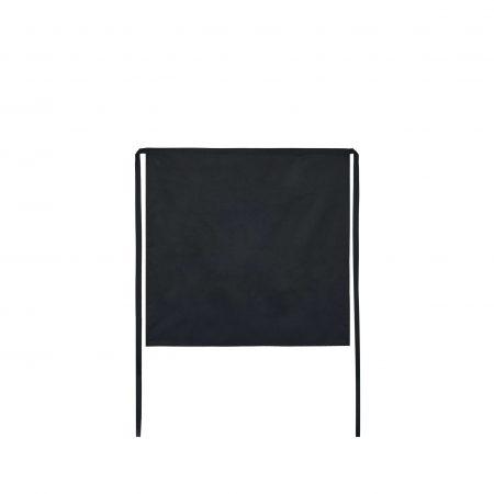 Avental de Cinta na cor preta para ser usado como Uniforme para Restauração